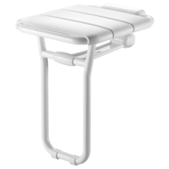 510400-Lift-up shower seat, with ALU leg