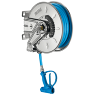 5675T2-Auto-rewind 304 stainless steel hose reel