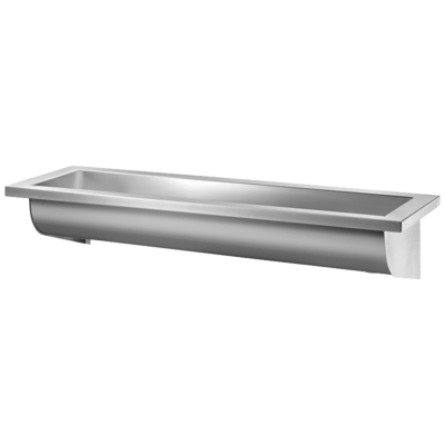 CANAL wall-mounted wash trough