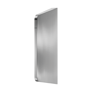 100590-LISO urinal divider for wall-mounting