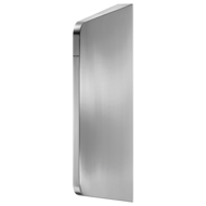 100600-LISO XL urinal divider for wall-mounting