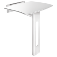 511930W-Be-line lift-up shower seat with leg