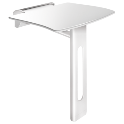 Be-line lift-up shower seat with leg