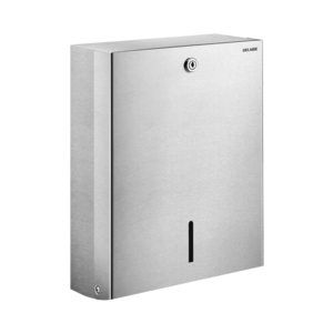 Wall-mounted paper towel dispenser, for 500 sheets
