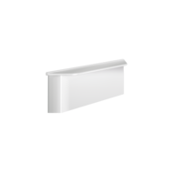 511921FW-Wall-mounted shelf for showers to conceal fixings