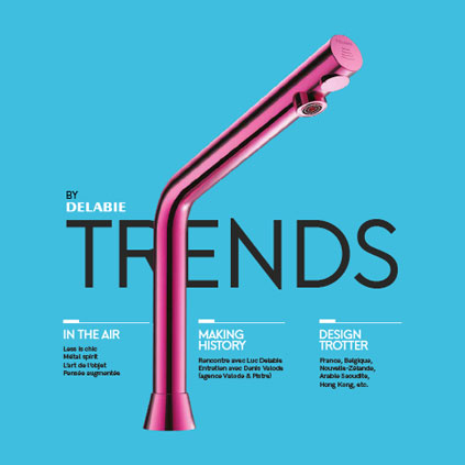 """Discover Issue 1 of our new Design magazine """"Trends by DELABIE"""" intended primarily for architects and interior designers, but also ultimately for t..."""