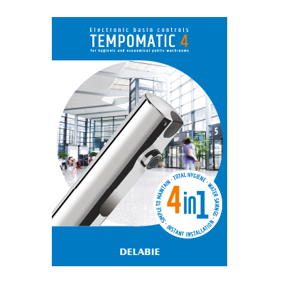 TEMPOMATIC 4 electronic basin controls