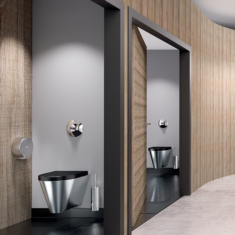 Refurbished on average every 15 to 20 years, sanitary facilities in public places are not known for setting design trends. Although slow to develop...