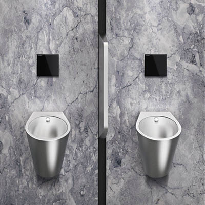 FINO stainless steel designer urinal
