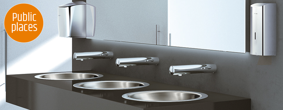 T4 ELECTRONIC SANITARY FITTINGS FOR OFFICES