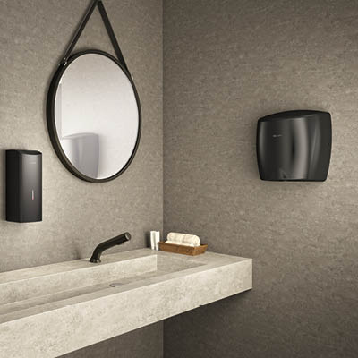 Paint it black with the HIGHFLOW hand dryer