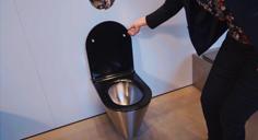 S21 S STAINLESS STEEL DESIGNER WC PAN