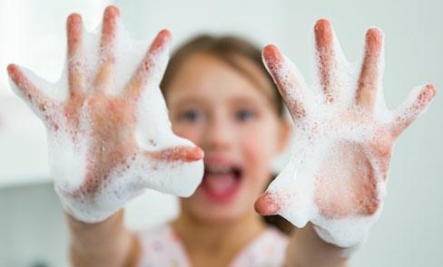 Hand washing and hygiene