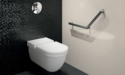 Be-Line®: a complete range of grab bars and shower seats for the elderly or disabled people