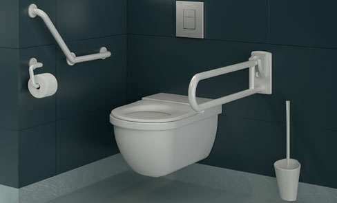 How to specify a disabled toilet