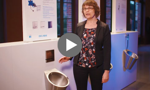 In this video discover the stylish FINO stainless steel urinal, the must-have product in washrooms