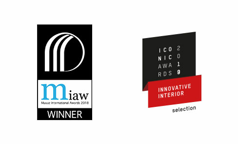 Nominated and and winner of numerous design awards